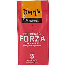 Καφές DIMELLO espresso forza αλεσμένος (250g)