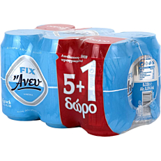 Μπύρα FIX HELLAS άνευ (6x330ml)