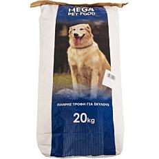 Ξηρά τροφή MEGA PET FOOD συντήρησης (20kg)