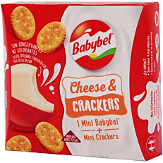 Σνακ BABYBEL cheese & crackers (40g)
