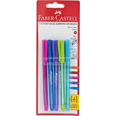 Στυλό gel FABER-CASTELL roller cx (5τεμ.)