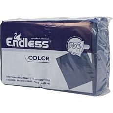 Χαρτοπετσέτες ENDLESS εστιατορίου μπλε 750φύλλα
