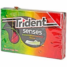 Τσίχλες TRIDENT Senses καρπούζι (23g)