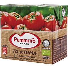 """Χυμός τομάτας PUMMARO """"Το κτήμα"""" ελαφρώς συμπυκνωμένος βιολογικό (500g)"""
