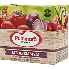 Χυμός τομάτας PUMMARO με κρεμμύδι ελαφρώς συμπυκνωμένος (520g)