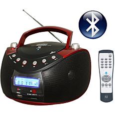 Ηχοσύστημα F&U RCD9038BT φορητό radio/cd και USB/MP3/BLUETOOTH
