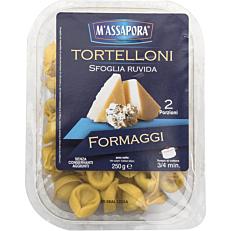 Ζυμαρικά MASSAPORA φρέσκα τορτελίνι με τυρί (250g)