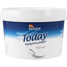 Γιαούρτι KOLIOS Today στραγγιστό 10% λιπαρά (5kg)