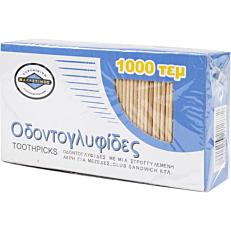 Οδοντογλυφίδες με κεφαλάκι (1000τεμ.)