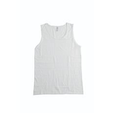 Φανέλα YASSOU BODY ανδρική άσπρο XL (2τεμ.)