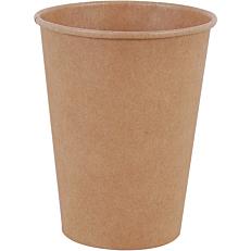 Ποτήρια χάρτινα κραφτ 8oz (50τεμ.)