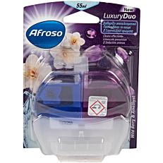 Αποσμητικό τουαλέτας AFROSO block wild berry & amethyst luxury duo, υγρό