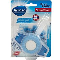Αποσμητικό τουαλέτας AFROSO block bleach power φρεσκάδα ωκεανού (45g)