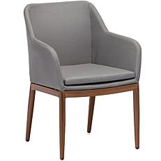 Πολυθρόνα αλουμινίου γκρι