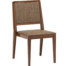 Καρέκλα αλουμινίου καφέ