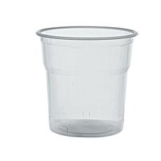 Ποτήρια πλαστικά PP διαφανή κοντά 300ml (50τεμ.)