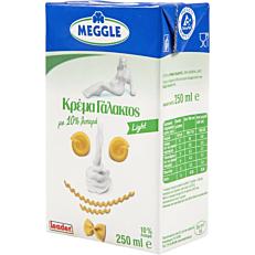 Κρέμα γάλακτος MEGGLE light 10% λιπαρά (250ml)