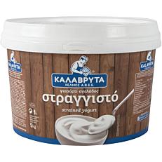 Γιαούρτι ΧΕΛΜΟΣ στραγγιστό 10% λιπαρά (5kg)