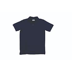 Μπλούζα ZEDEM ανδρική πόλο πικέ βαμβακερή με τσέπη, μπλε
