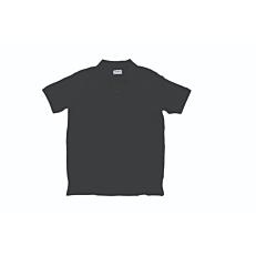 Μπλούζα ZEDEM ανδρική πόλο πικέ βαμβακερή με τσέπη, μαύρη