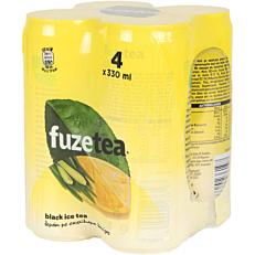 Αφέψημα FUZE λεμόνι με λουίζα (4x330ml)
