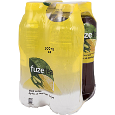 Αφέψημα FUZE λεμόνι με λουίζα (4x500ml)