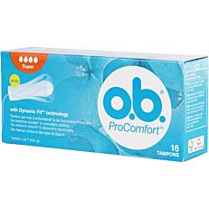 Ταμπόν O.B. Pro Comfort Silktouch Super