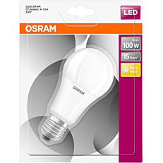 Λάμπα OSRAM LED CL A 100/14W E27 θερμό φως