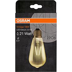 Λάμπα OSRAM LED VINTAGE EDISON 2,8W E27