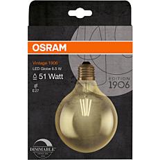Λάμπα OSRAM LED VINTAGE GLOBE 6,5W E27