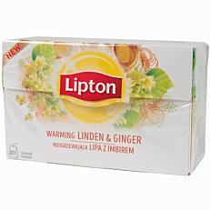 Αφέψημα LIPTON τίλιο και τζίντζερ (20x1,3g)