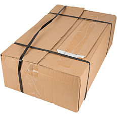 Χαρτοσακούλες κραφτ με εσωτερική επένδυση αλουμινίου 10x26cm (5kg)