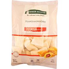 Λουκανικοπιτάκια BAKER MASTER με σφολιάτα κατεψυγμένα (1kg)