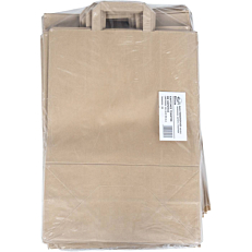 Τσάντα χάρτινη κραφτ με χερούλι 32x45x16cm (50τεμ.)