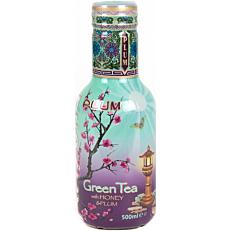 Αφέψημα ARIZONA πράσινου τσαγιού με δαμάσκηνο (500ml)