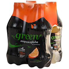 Αναψυκτικό GREEN Orange (4x330ml)