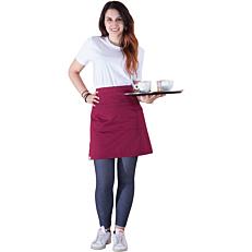 Ποδιά THE MAKERS σερβιτόρου mini μπορντώ