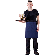 Ποδιά THE MAKERS σερβιτόρου mini μπλε σκούρο