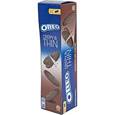 Μπισκότα OREO thins με σοκολάτα (96g)