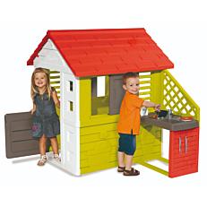 Σπιτάκι SMOBY κήπου με κουζίνα παιδικό