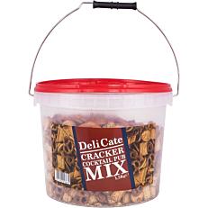 Κράκερ αλμυρά mix κουβάς (1,5kg)