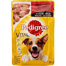 Τροφή PEDIGREE σκύλου vital protection με μοσχάρι και αρνί σε σάλτσα (100g)