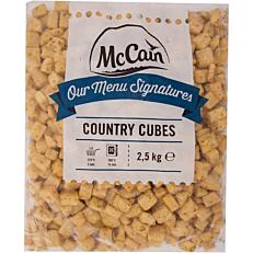 Πατάτες MCCAIN με μυρωδικά σε κύβους κατεψυγμένες (2,5kg)