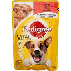 Τροφή PEDIGREE σκύλου vital protection με μοσχάρι σε σάλτσα (100g)
