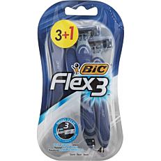 Ξυραφάκια BIC flex 3 comfort μιας χρήσης (4τεμ.)