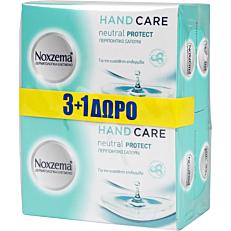 Σαπούνι NOXZEMA Neutral πλάκα (4x100g)