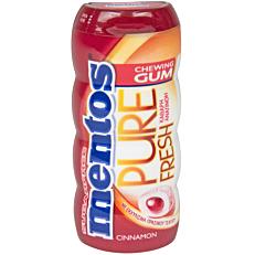 Τσίχλες MENTOS Pure Fresh κανέλα (33g)