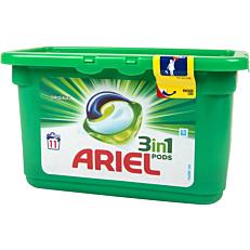 Απορρυπαντικό ARIEL Original 3 σε 1 πλυντηρίου ρούχων, σε υγρές κάψουλες (11τεμ.)