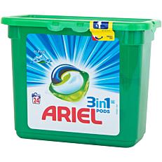 Απορρυπαντικό ARIEL ALPINE 3 σε 1 πλυντηρίου ρούχων, σε υγρές κάψουλες (24τεμ.)