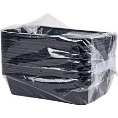 Σκεύη PP μαύρα 1100ml (25τεμ.)